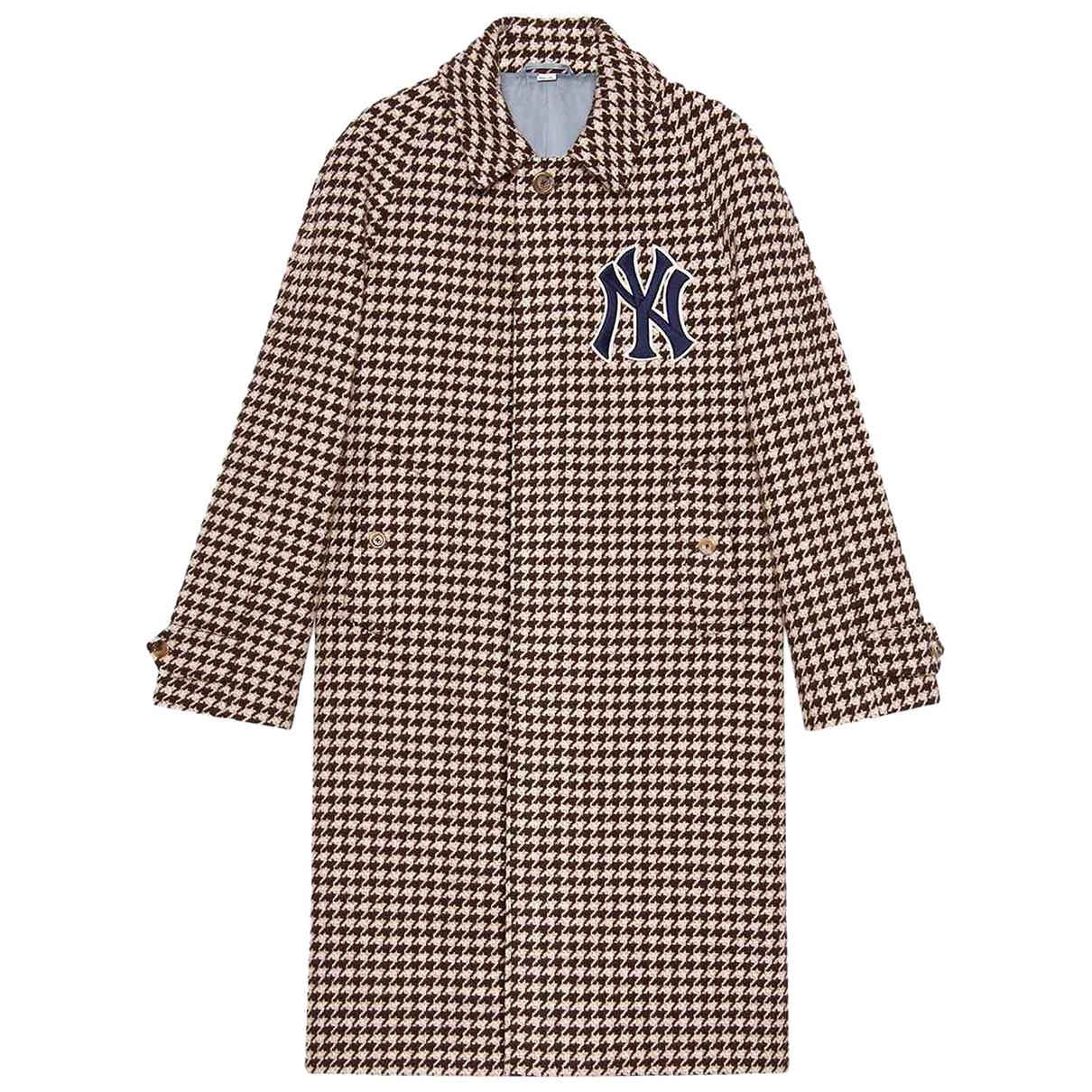 Gucci N Brown Wool coat  for Men L International