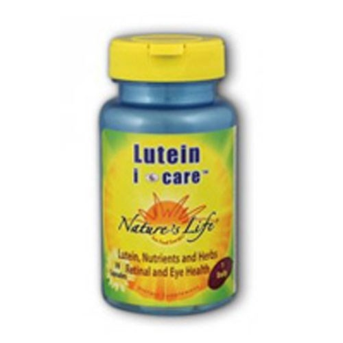 Lutein I care 30 caps by Nature's Life