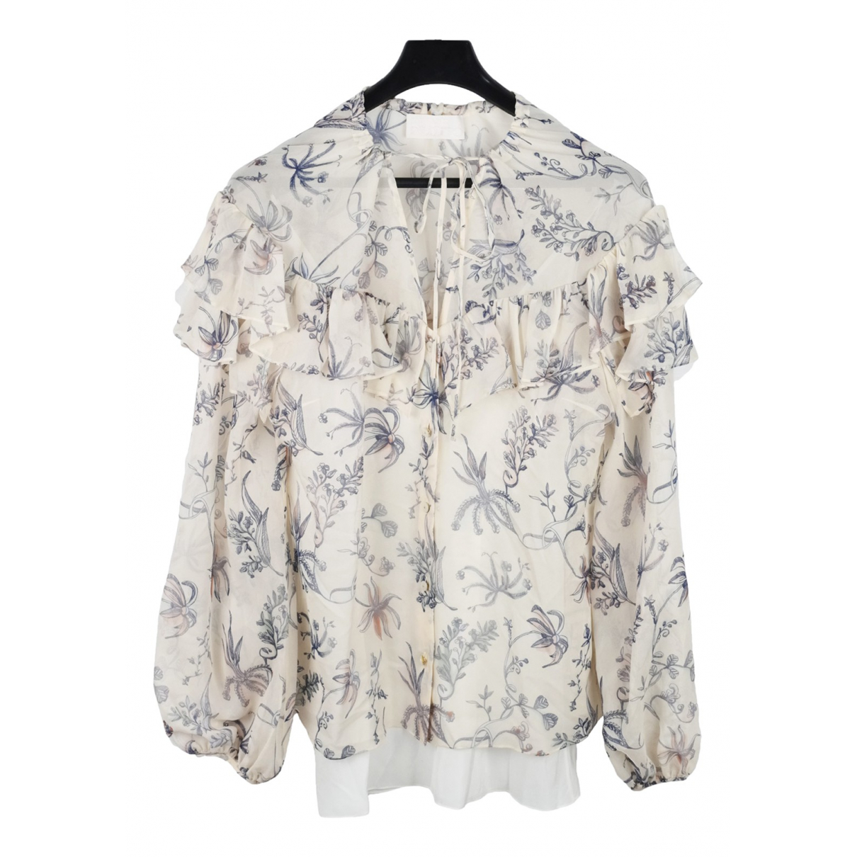 Peter Pilotto \N White Silk  top for Women 8 UK