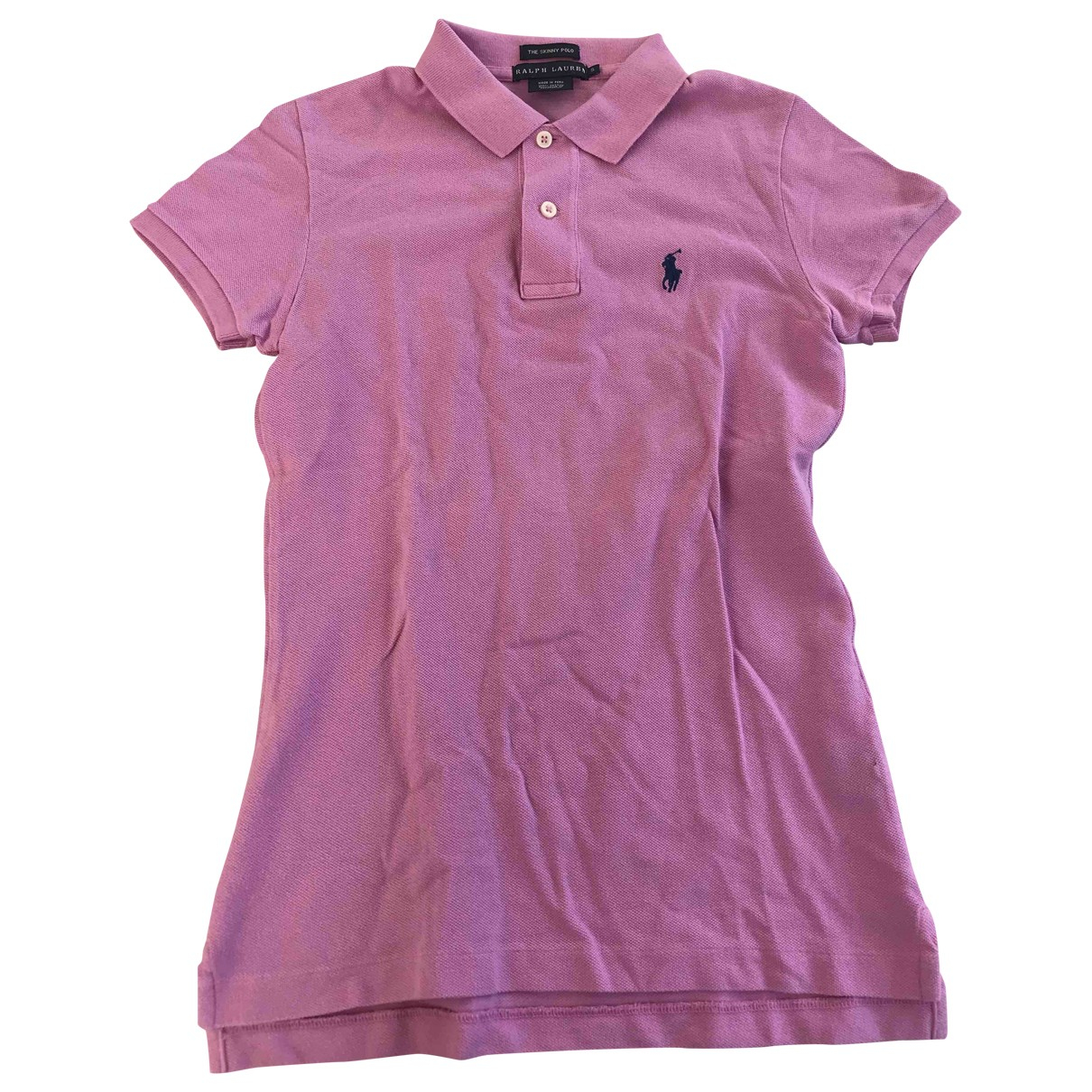 Ralph Lauren \N Pink Cotton  top for Women 36 FR