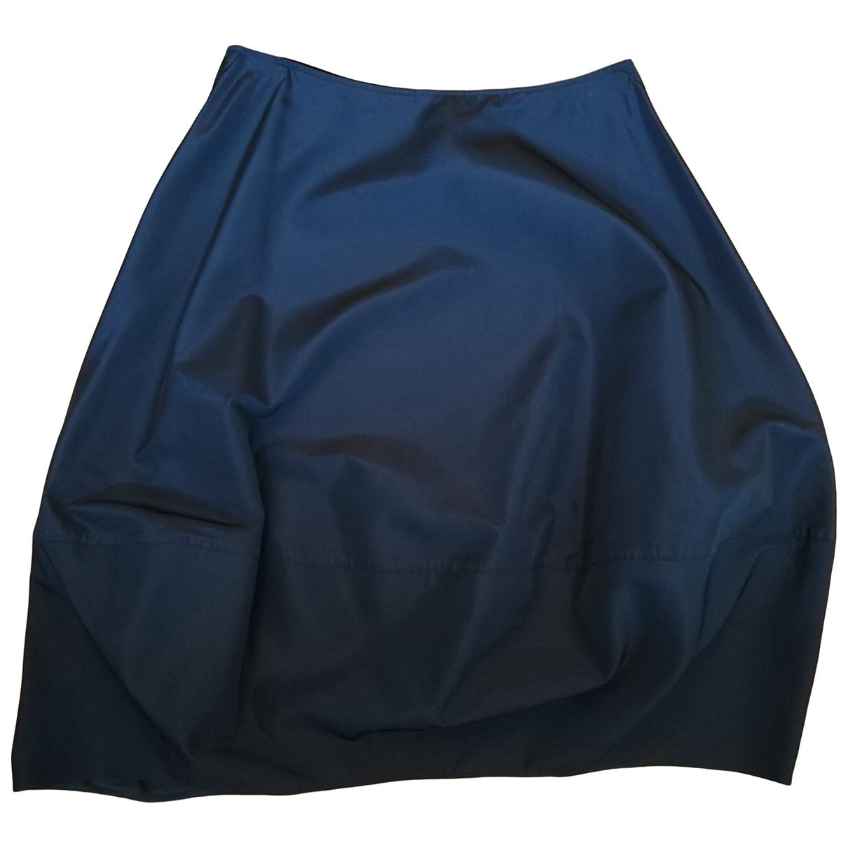 Non Signé / Unsigned \N Black Cotton skirt for Women M International