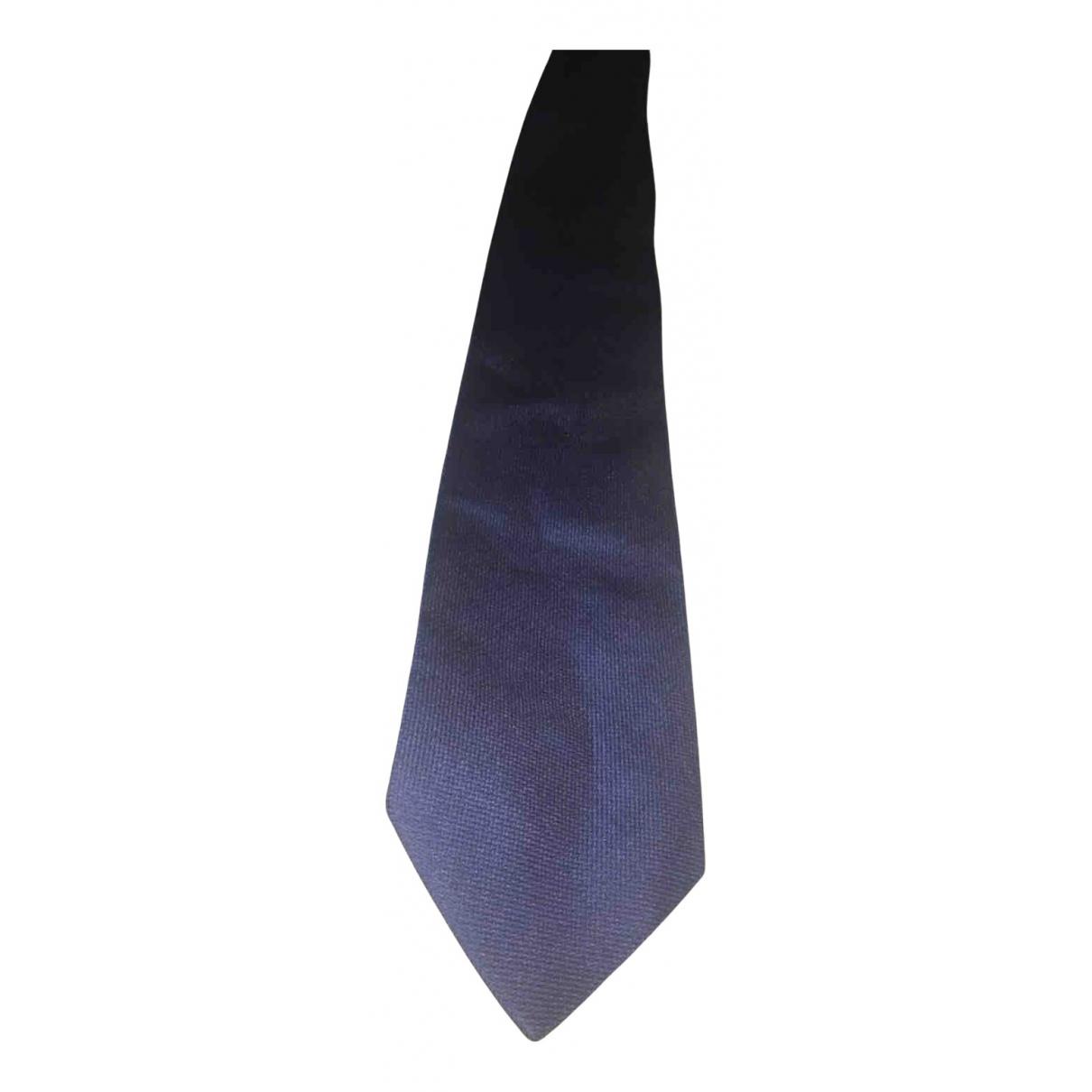 Zilli \N Krawatten in  Blau Synthetik
