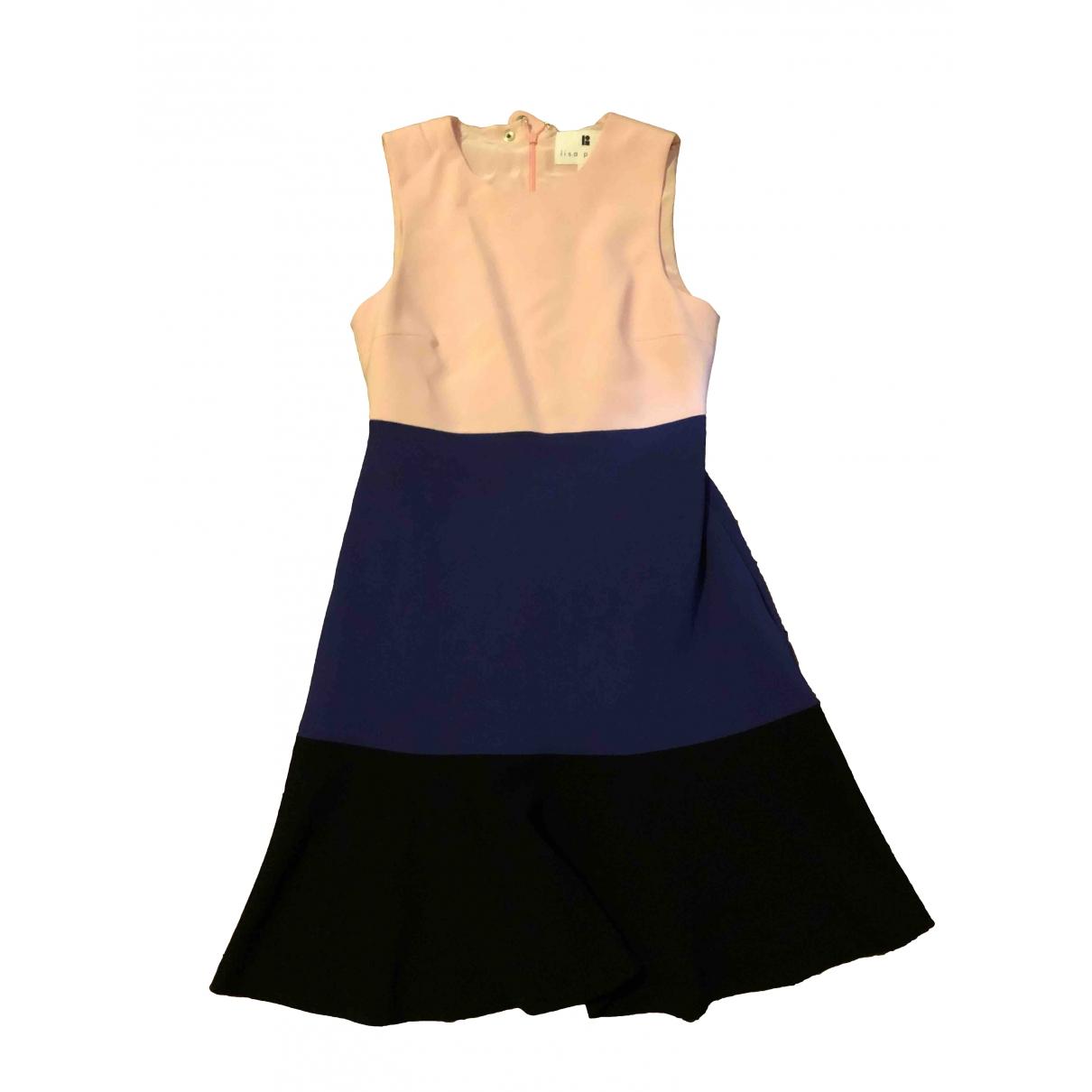Lisa Perry \N Kleid in  Bunt Polyester