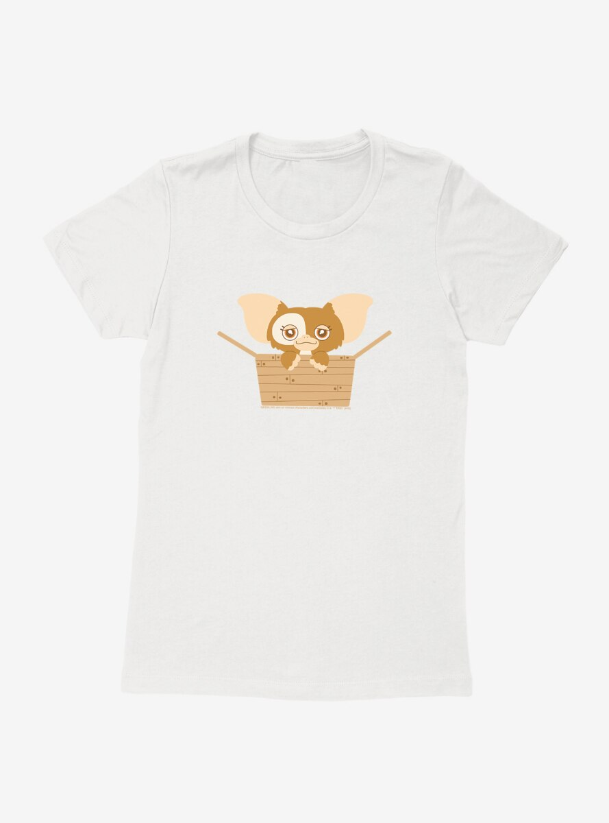 Gremlins Adorable Gizmo Hanging Out Womens T-Shirt