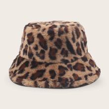 Leopard Pattern Bucket Hat