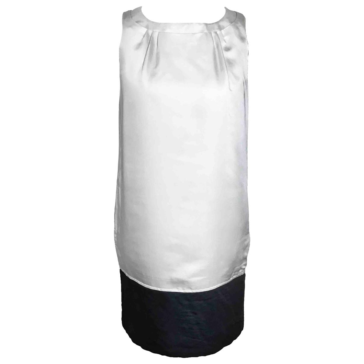 Max Mara - Robe   pour femme en soie - beige