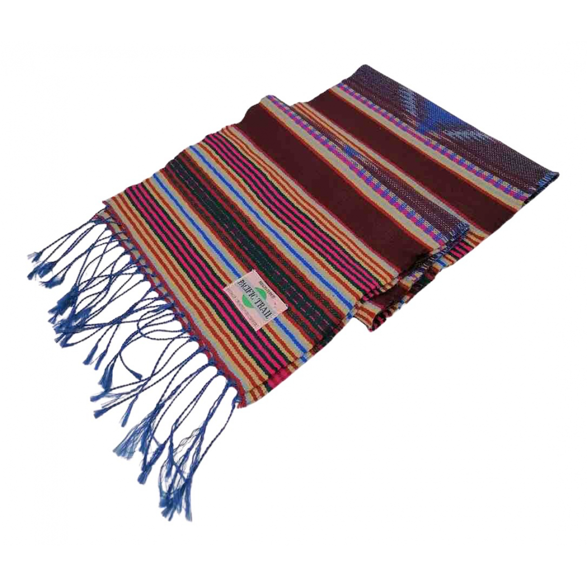 Non Signé / Unsigned N Multicolour Cotton scarf & pocket squares for Men N