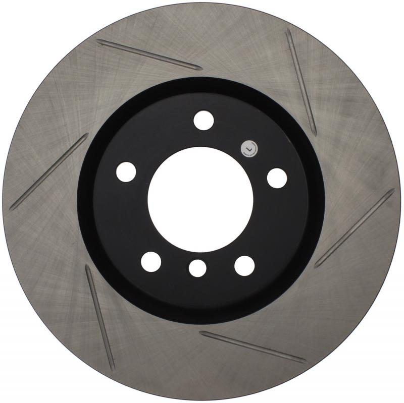 StopTech 126.34038SL Sport Slotted Brake Rotor; Front Left BMW Front Left