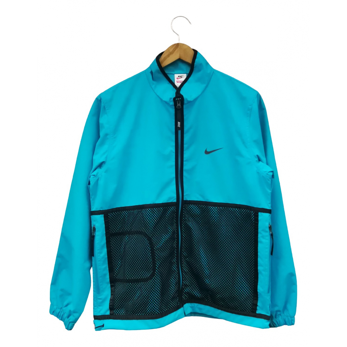 Nike X Supreme \N Jacke in  Tuerkis Polyester