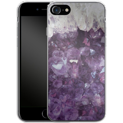 Apple iPhone 7 Silikon Handyhuelle - Bold Ametista von Emanuela Carratoni