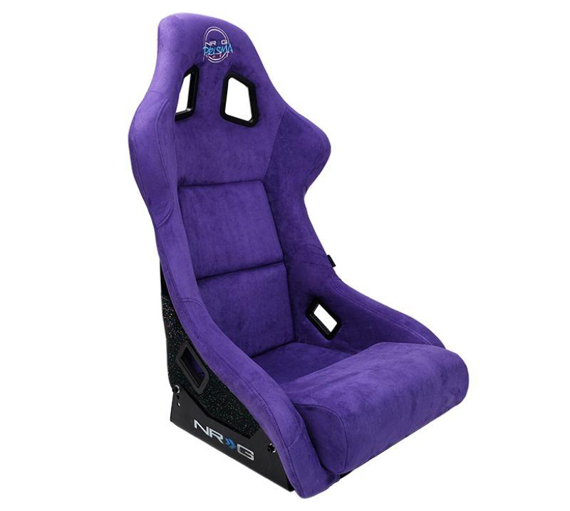 NRG FRP-302PP-PRISMA FRP Prisma Edition Bucket Seat Large Purple