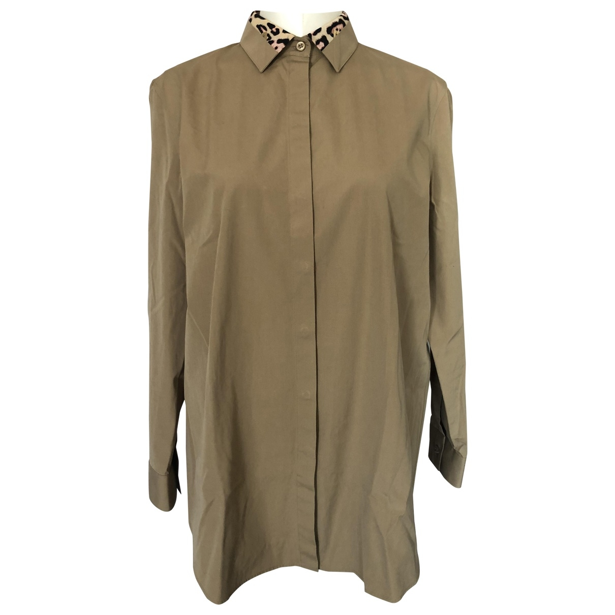 Givenchy \N Beige Cotton  top for Women 42 IT