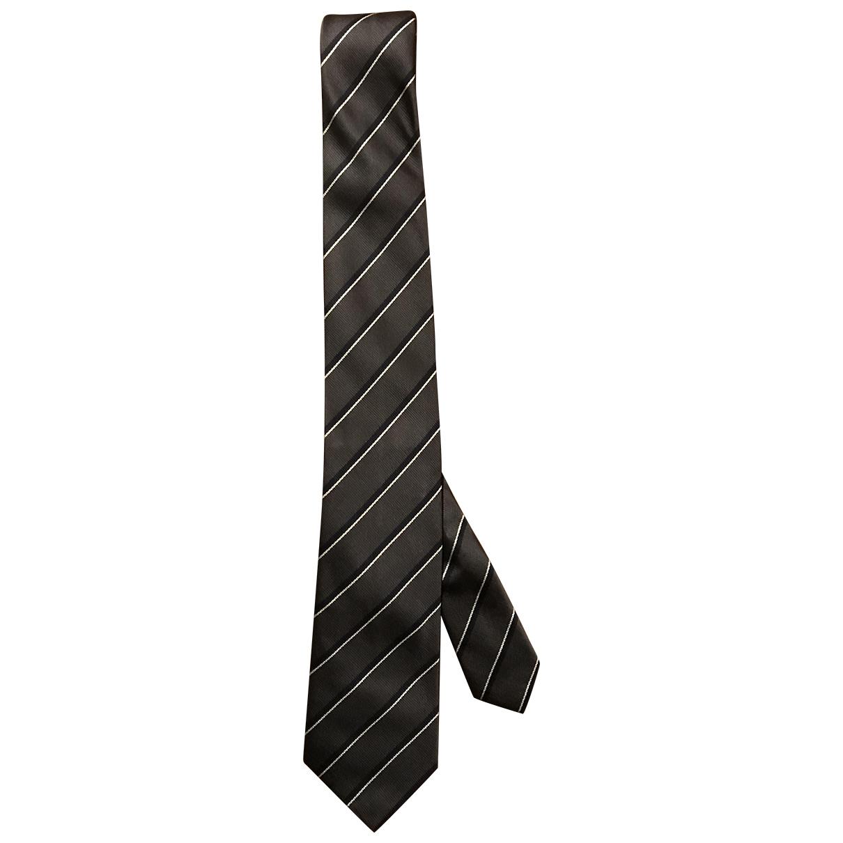 Prada \N Krawatten in  Grau Seide