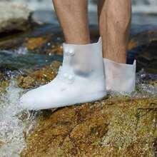 1pair Silicone Rain Boots Cover