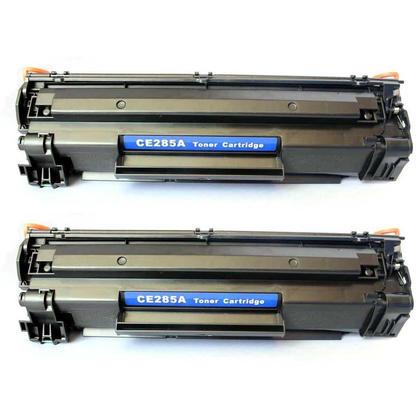 Compatible HP 85A CE285A cartouche de toner noire - boite economique - 2/paquet