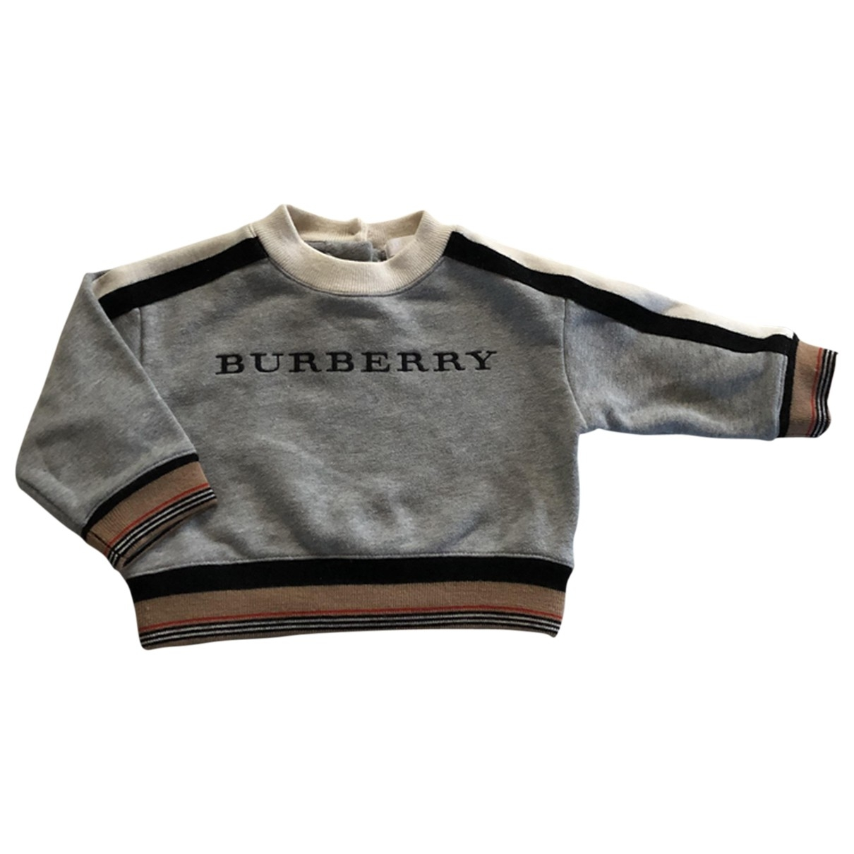 Burberry \N Grey Cotton Knitwear for Kids 9 months - until 28 inches UK