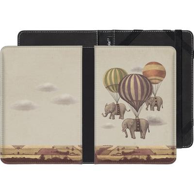 Amazon Fire HD 6 eBook Reader Huelle - Flight Of The Elephants von Terry Fan