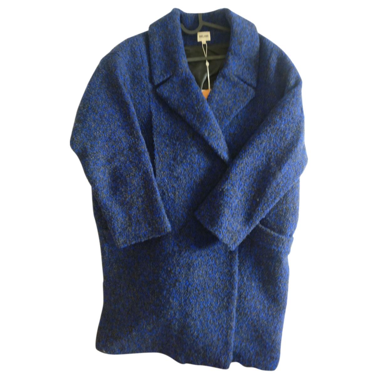 Bel Air N Blue Wool coat for Women 36 FR