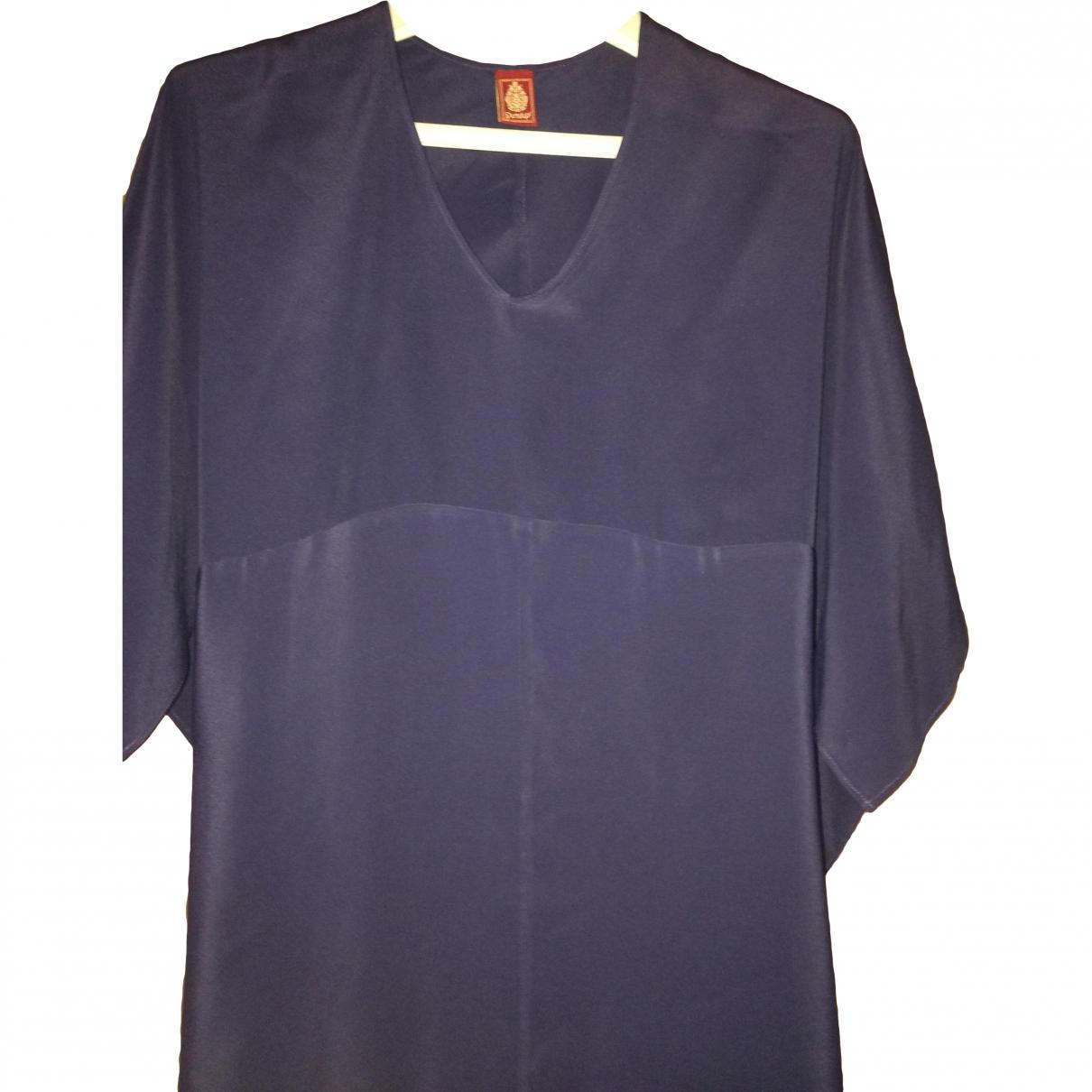 Dondup - Top   pour femme en soie - violet