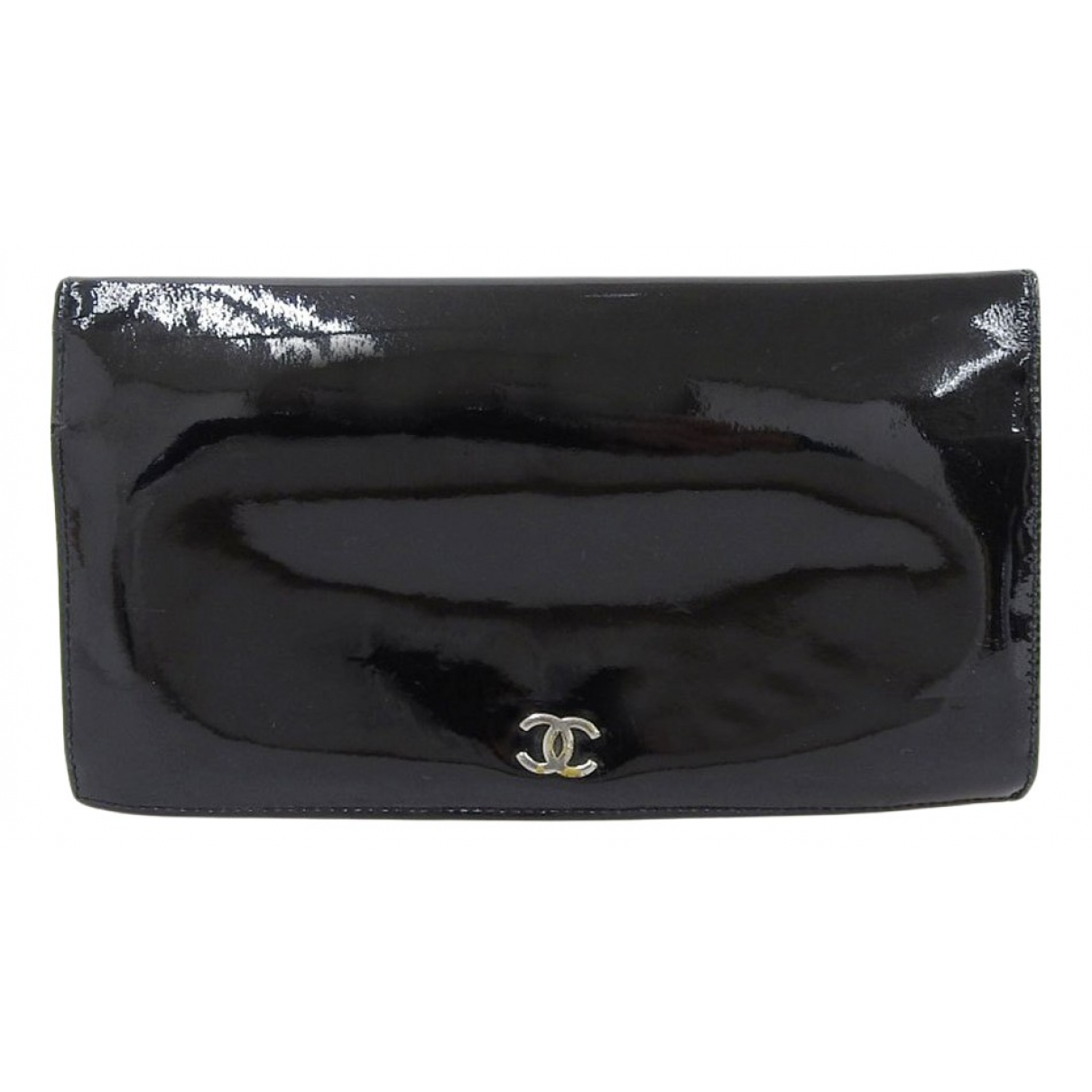 Chanel - Portefeuille   pour femme en cuir verni - multicolore