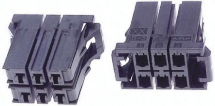 TE Connectivity , Dynamic 3000 Female Connector Housing, 5.08mm Pitch, 20 Way, 2 Row