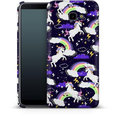 Samsung Galaxy J4 Plus Smartphone Huelle - Unicorn Blue von Mukta Lata Barua