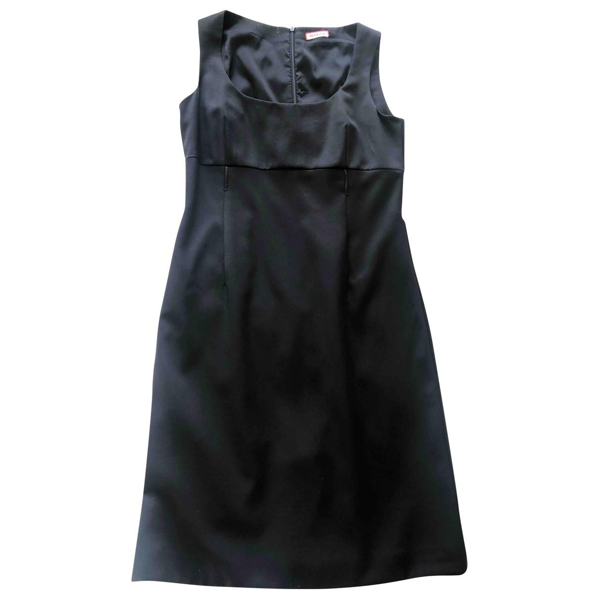 Max & Co - Robe   pour femme en laine - noir