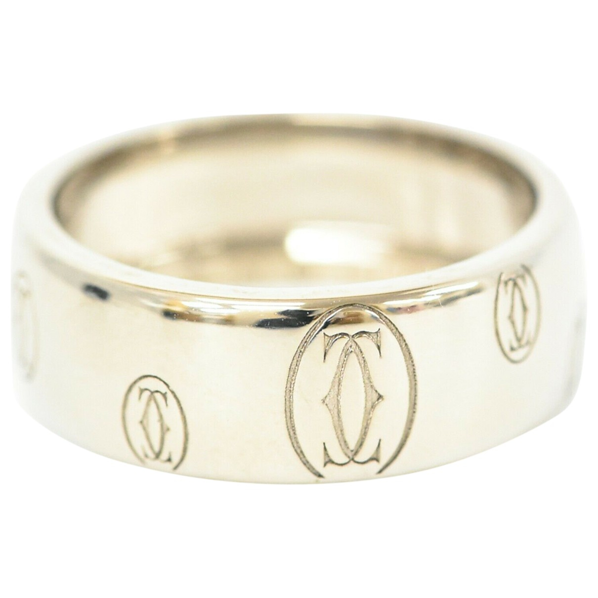 Cartier \N Silver White gold ring for Women \N