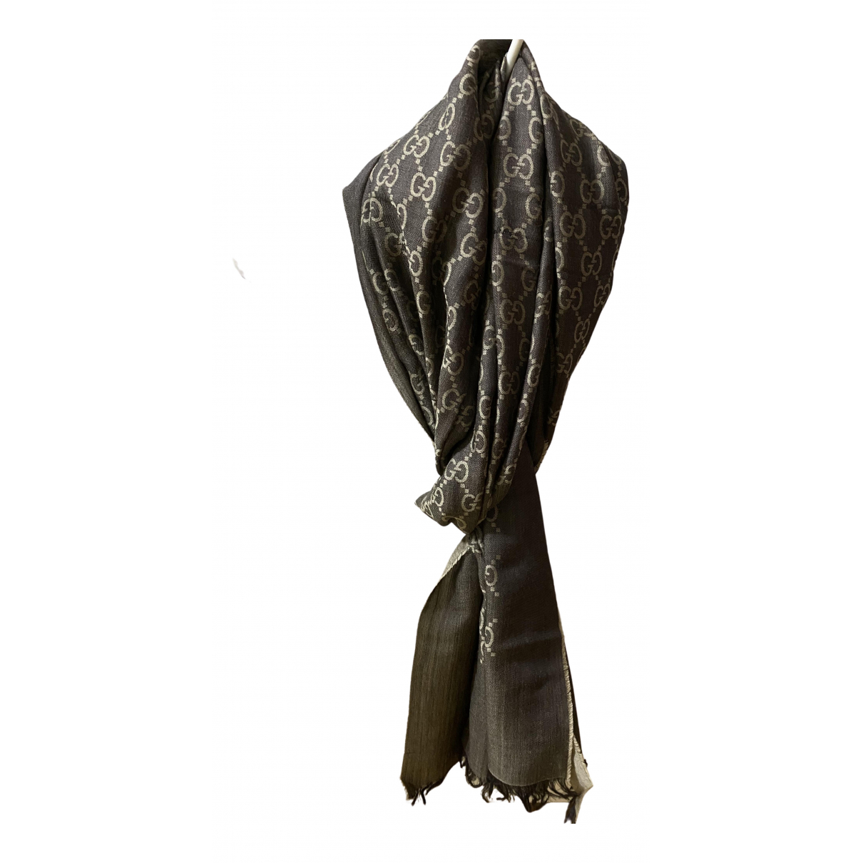 Gucci \N Brown Wool scarf for Women \N