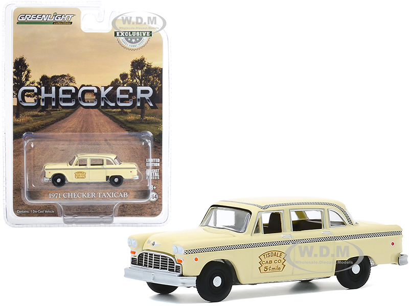 1971 Checker Taxicab Yellow