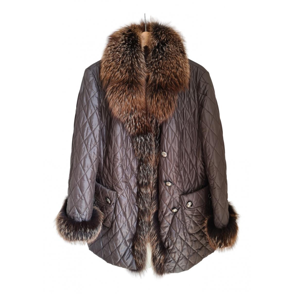 Basler \N Brown Fur coat for Women 42 FR
