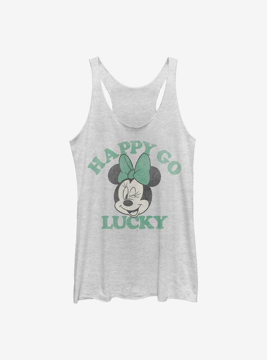 Disney Minnie Mouse Lucky Minnie Womens Tank Top