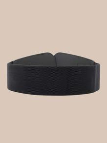 Metal Decor Wide Belt
