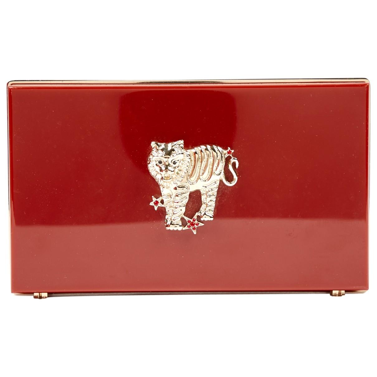 Charlotte Olympia \N Red Clutch bag for Women \N