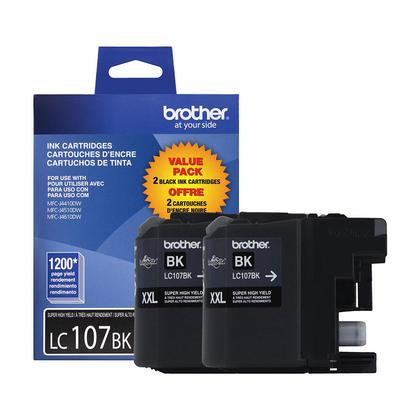 Brother LC1072PKS Original Black Ink Cartridge Extra High Yield