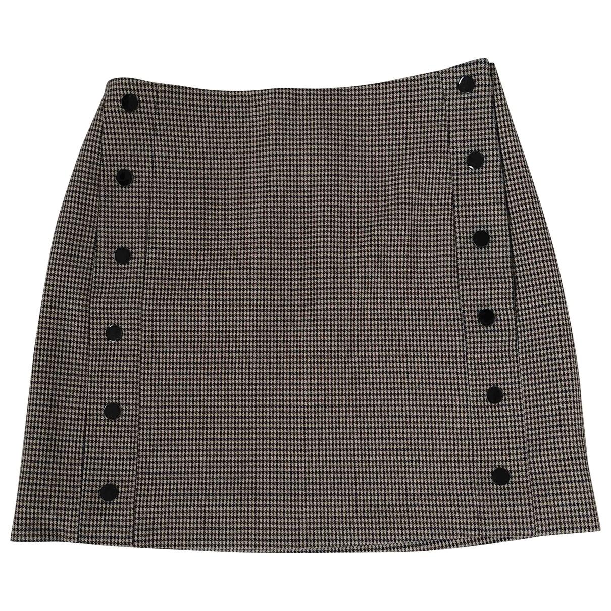 Sandro \N Beige skirt for Women 1 0-5