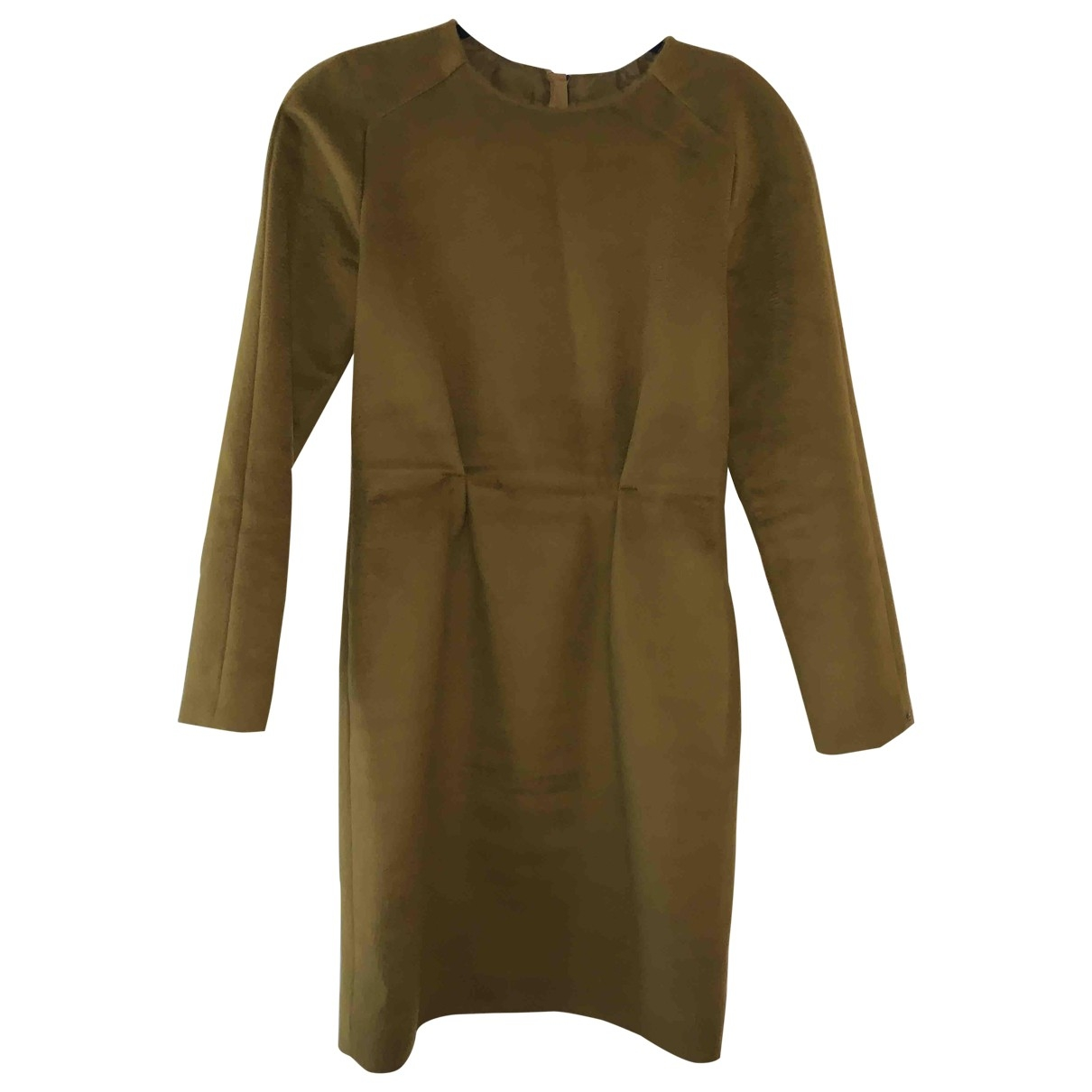 Sport Max - Robe   pour femme en laine - kaki