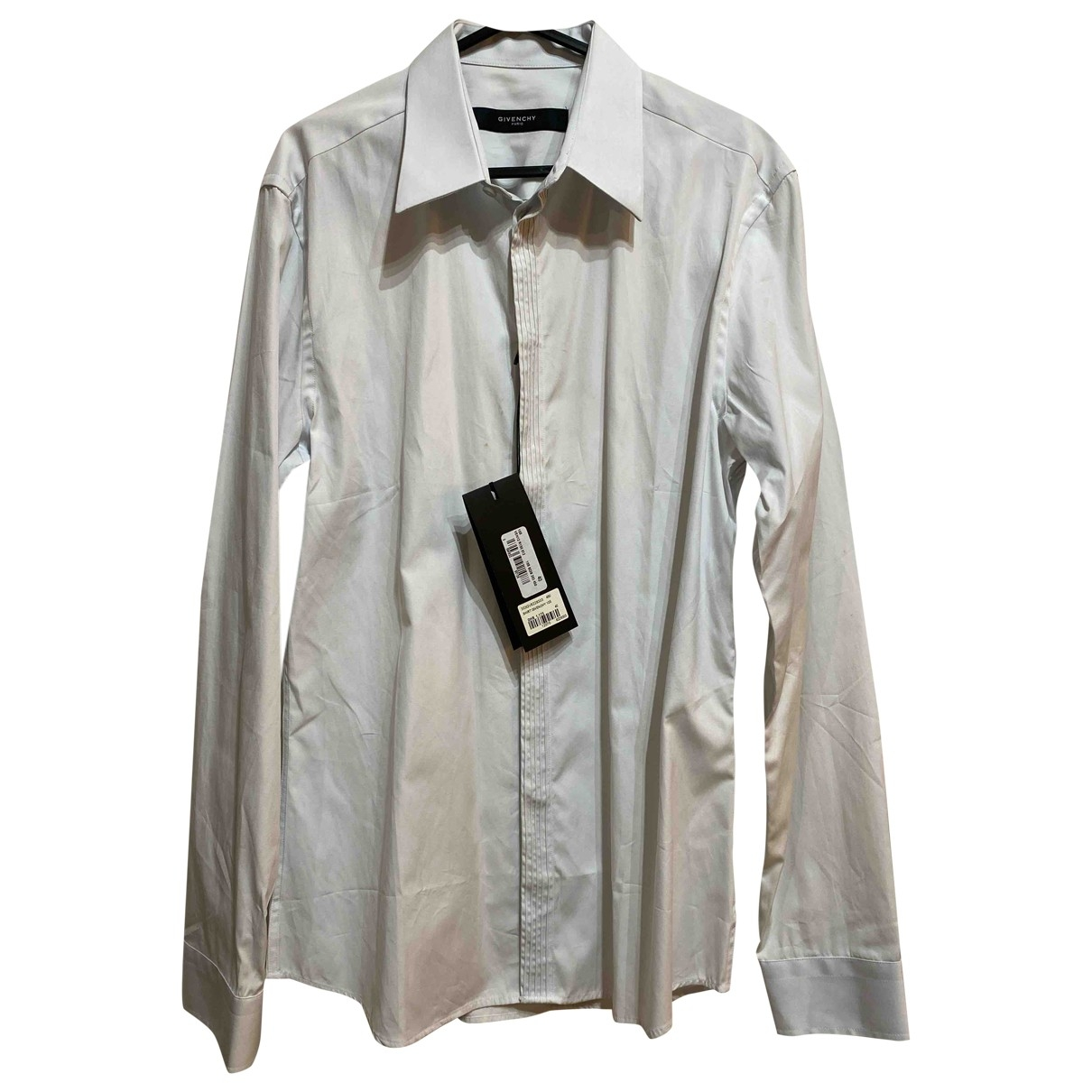 Givenchy \N Blue Cotton Shirts for Men 40 EU (tour de cou / collar)