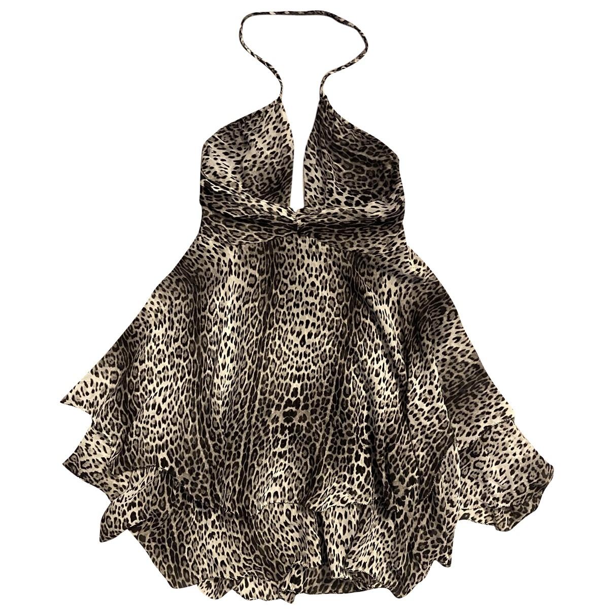 Non Signé / Unsigned \N Silk dress for Women S International