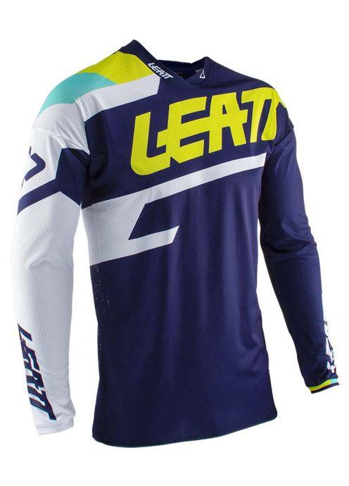 Leatt 5020001232 Blue GPX 4.5 Lite Jersey Large