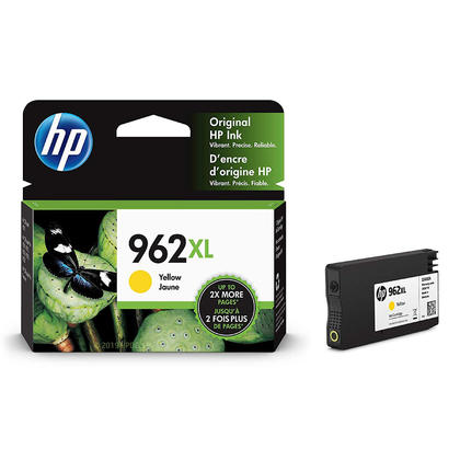 HP 962XL 3JA02AN Original Yellow Ink Cartridge High Yield
