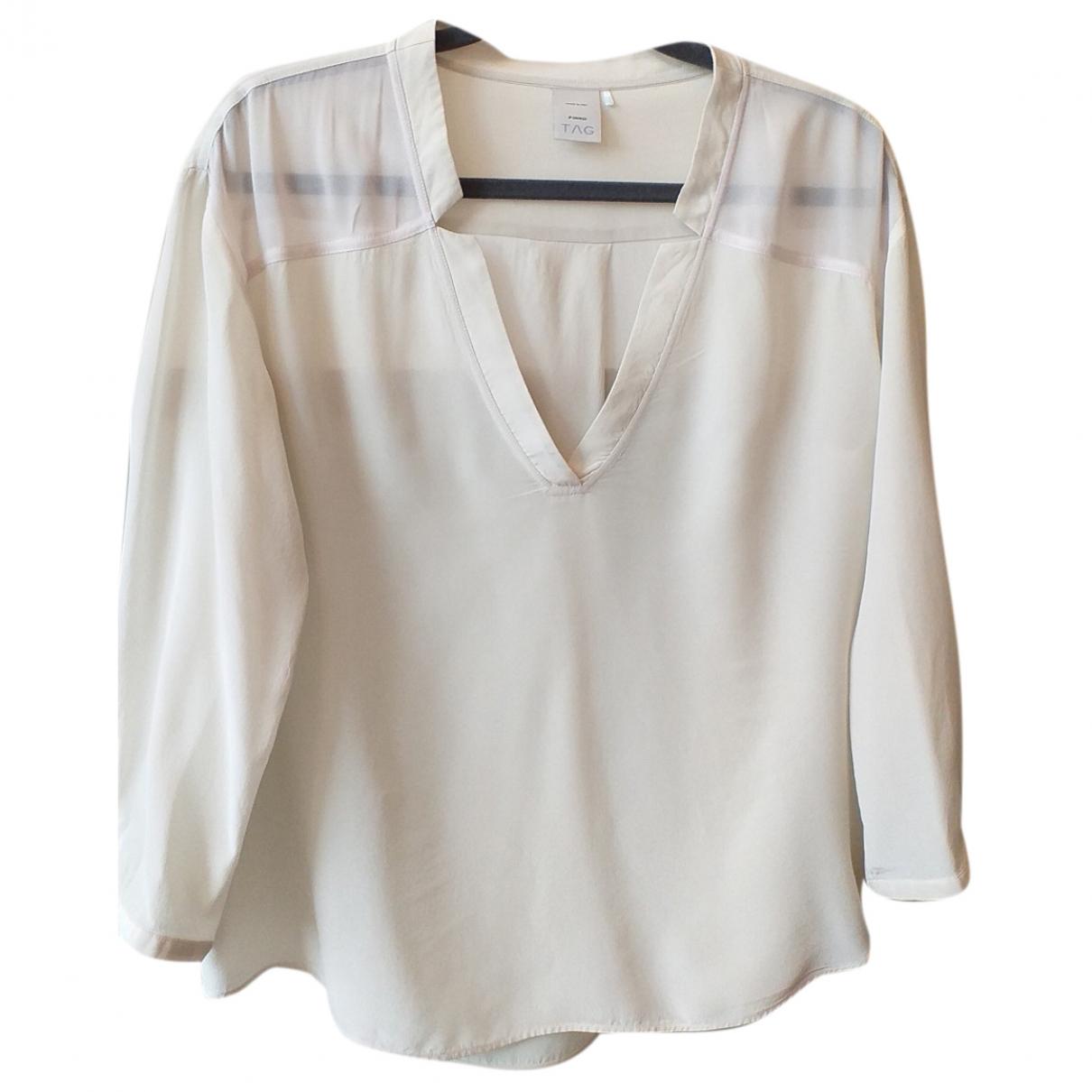 Pinko \N Ecru Silk  top for Women L International