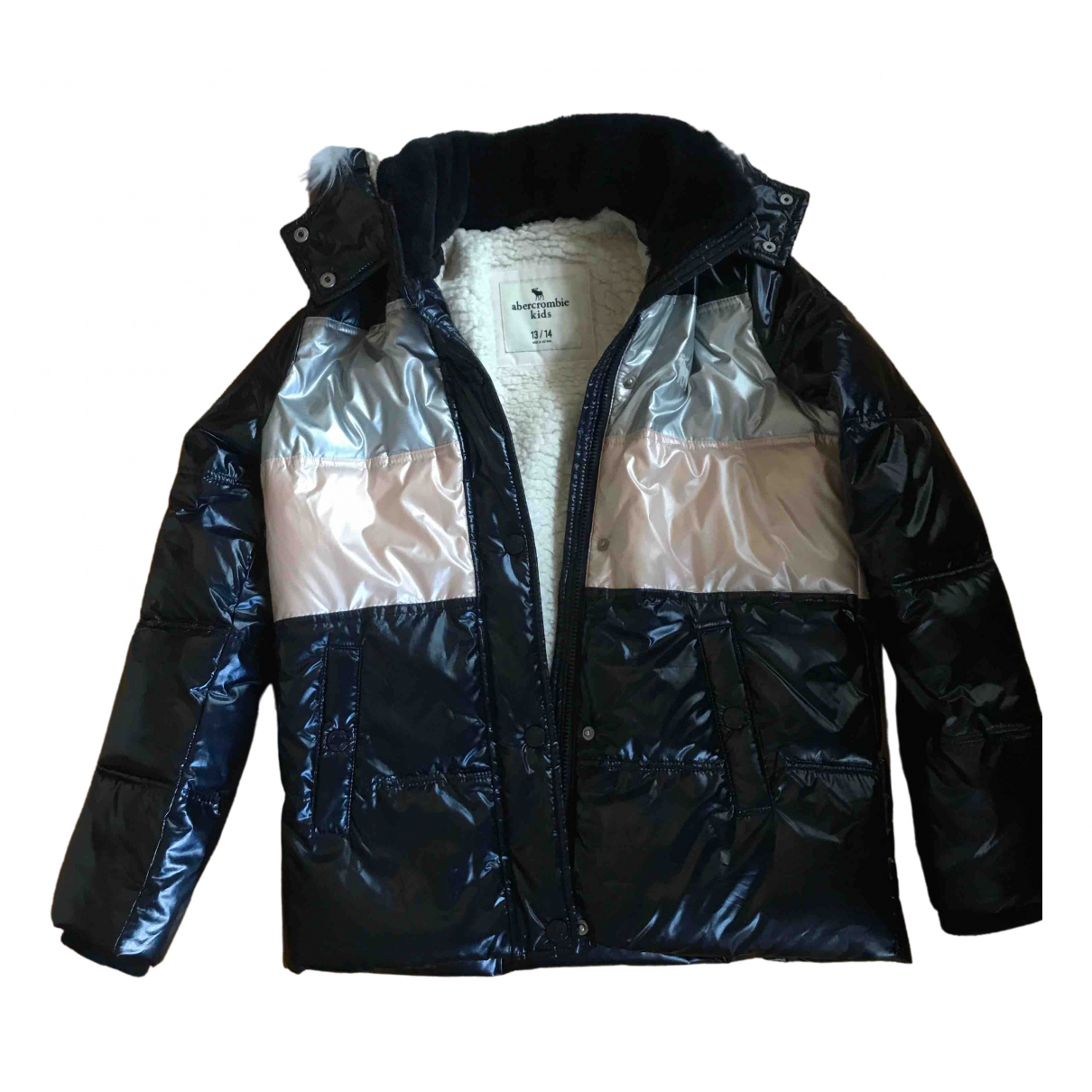 Abercrombie & Fitch \N Blue jacket & coat for Kids 14 years - S UK