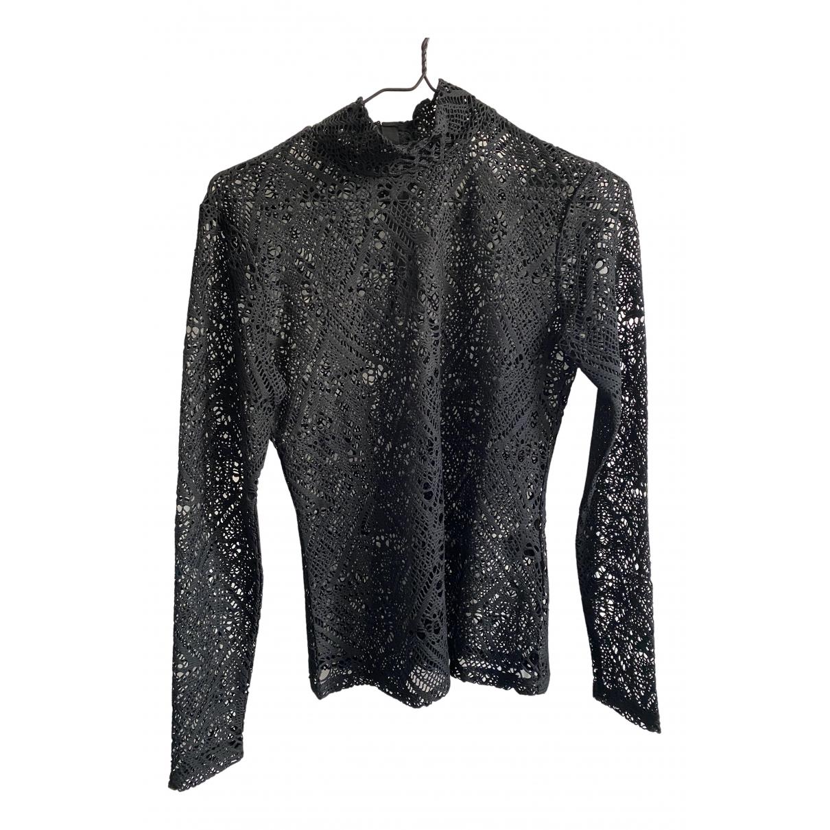 Designers Remix - Top   pour femme en coton - noir
