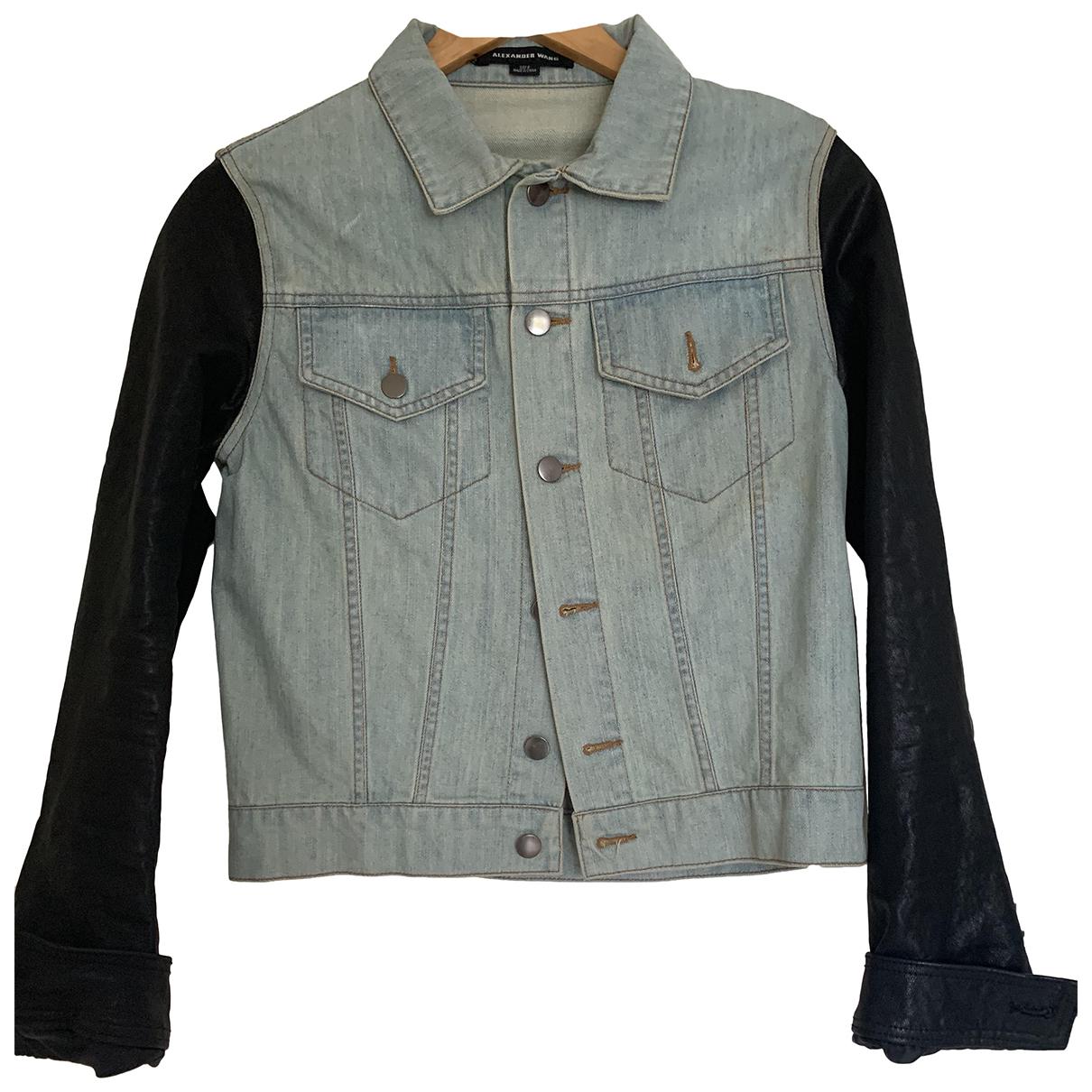 Alexander Wang N Black Leather coat for Women 6 US