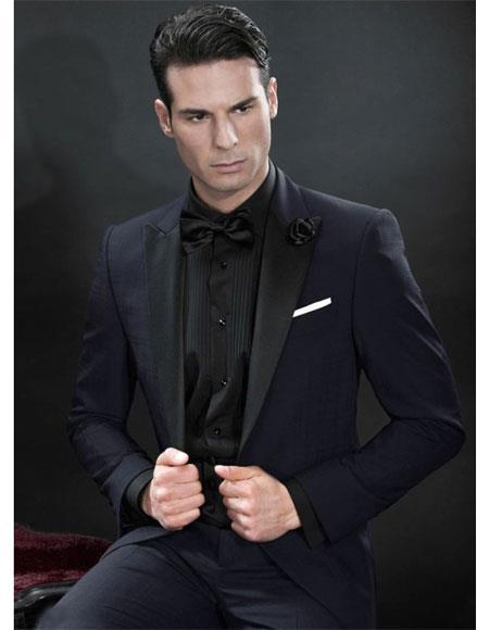 Mens Western Black Suit & Tuxedo