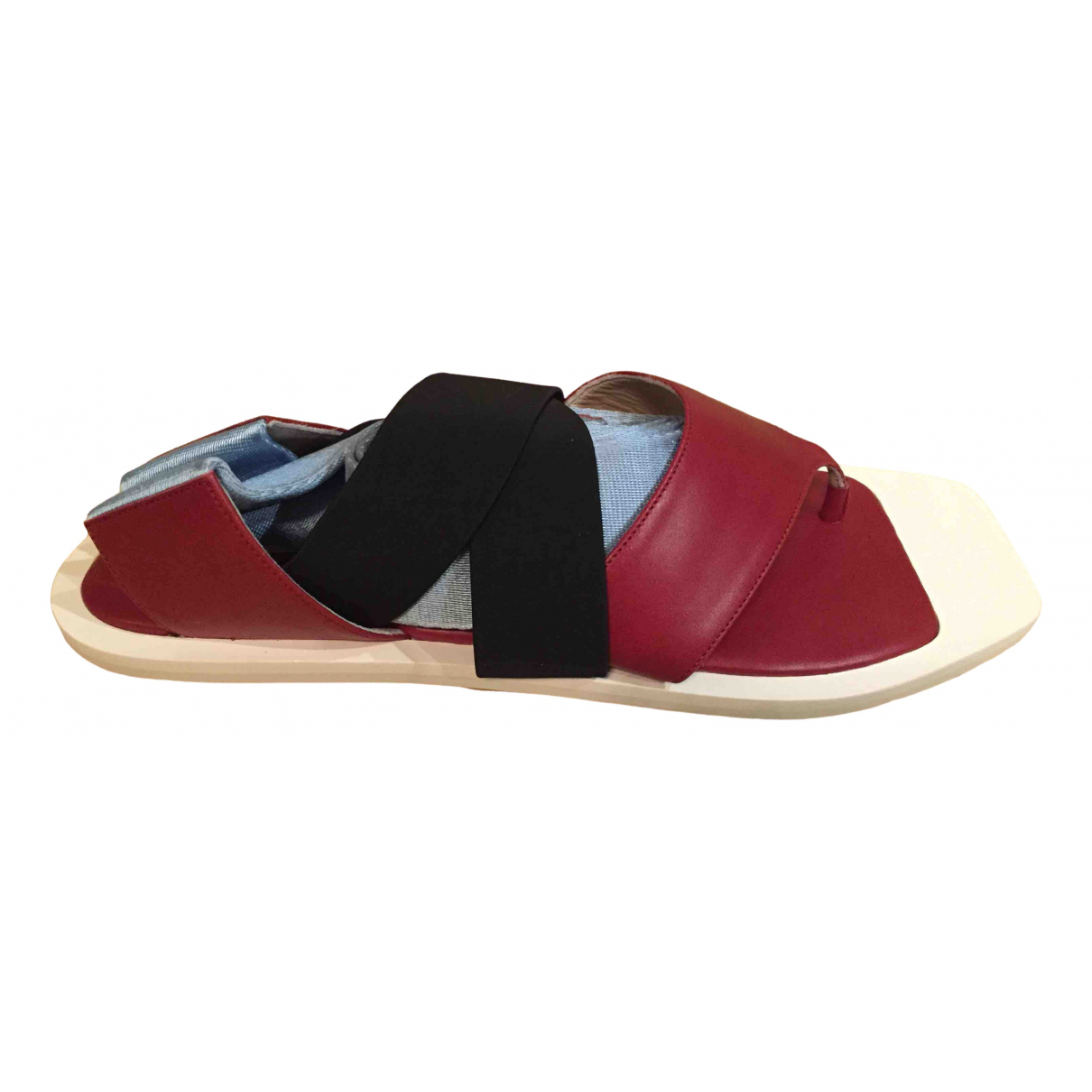 Sport Max \N Multicolour Leather Sandals for Women 38 IT