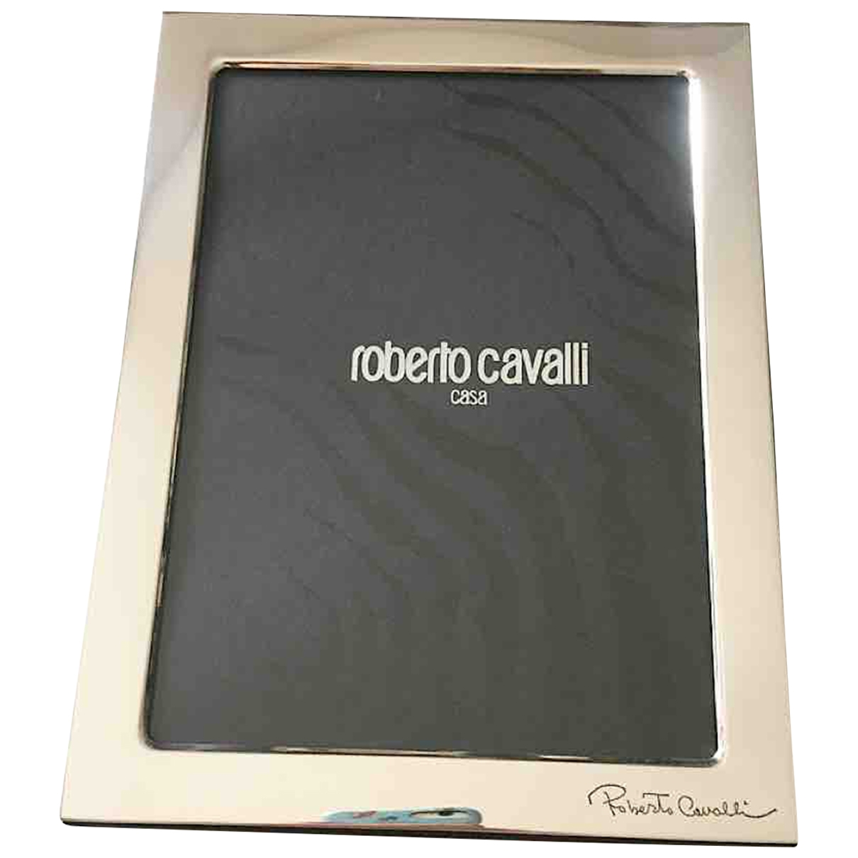 Roberto Cavalli \N Accessoires und Dekoration in  Schwarz Silber