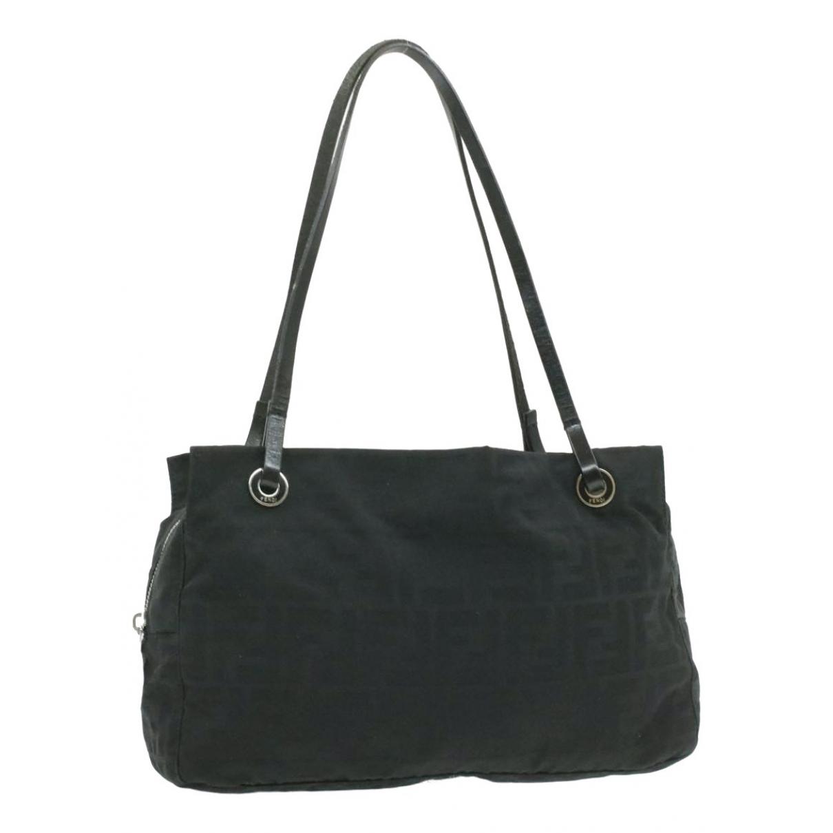Fendi \N Handtasche in  Schwarz Synthetik