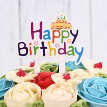 50pcs Birthday Cake Topper